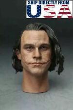 "1/6 Joker Heath Ledger Head Sculpt For 12"" Hot Toys DX11 DX01 Male Figure USA"