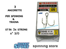 ANCORETTE OWNER TRABUCCO 5646  SERIE ST 56  N  3/0   INOX  CONF 3 PZ 3 X STRONG
