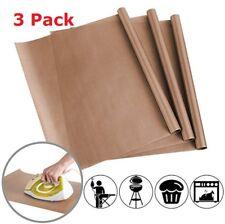 """3 Pack PTFE 16x24"""" Teflon Sheet Mat Heat Press Craft Transfer Sheet Non Stick"""
