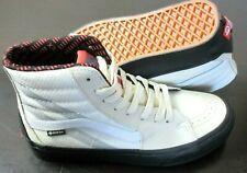 Vans Womens Sk8-Hi Gore-Tex Turtledove Marshmallow Black Shoes Size 8.5 NIB