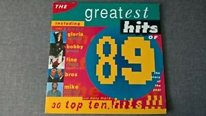 VARIOUS ARTISTS - THE GREATEST HITS OF 1989 .      2LP.