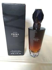 Avon • PRIMA NOIR  Women's EAU DE PARFUM SPRAY  50 mL / 1.7 FL OZ Open Box