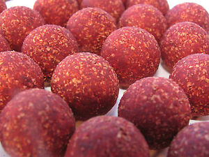 Red Krill 20mm Pop-ups Baits Carp Fishing Round Pop-up Boilies