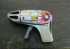 Japan Friction Sparking Atomic Space Gun, Nice!  Vintage!