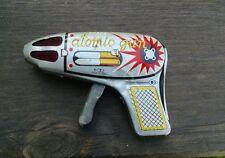 Japan Friction Sparking Atomic Space Gun, Nice!  Vintage!