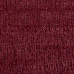 E509 Burgundy Solid Jacquard Woven Upholstery Grade Fabric By The Yard