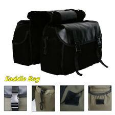 Waterproof Saddlebags Motorcycle Rear Rack Tail Seat Side Saddle Bag Luggage(Fits: 1985 CR125)
