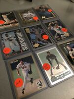 Lot of 16 High-End Cards Jeter RC, Griffey Inserts, A-Rod RC, Chipper Jones Gold