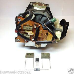 KENWOOD CHEF 901D/E 902/904 907D  & KM BASIC EVOX RIFA MOTOR REPAIR KIT & GUIDE.