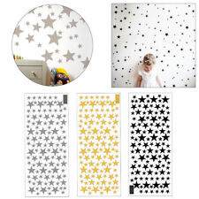 110Pcs set Star Wall Stickers Baby Kids Bedroom Decals Art Vinyl Home Decors