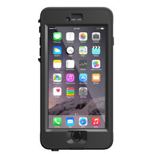 & Genuine iPhone 6 6s Plus LifeProof Nuud Waterproof Case Cover Black Ip68