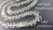 925 Sterlingsilber 11mm Königskette Flach Massive echt Silber Halskette 70 cm