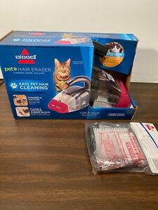 NEW Bissell Pet Hair Eraser Handheld Vac Portable Corded Bagless Vacuum Cleaner