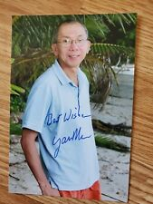 Survivor Fiji and Micronesia star Yau Man Chan signed 4x6 photo