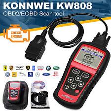 KW808 Konnwei OBDII EOBD OBD2 Scanner Car Code Reader Tester Diagnostic MS509 fH