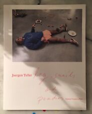 "Juergen Teller "" Leg , Snails And Peaches "" SIGNED COPY"