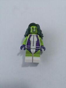 "Lego Minifigure She Hulk SH373 ""RARE"" Excellent condition"