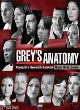 Grey's Anatomy ~ Complete 7th Seventh Season 7 Seven ~ BRAND NEW 6-DISC DVD SET