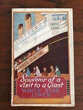 White Star Line R.M.S Majestic Foldout Brochure