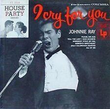 "JOHNNIE RAY - I CRY 4 U - COLUMBIA 10"" LP - 6 EYED LOGO"