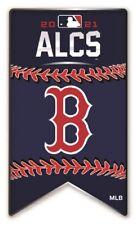 2021 MLB Alcs Boston Rouge Sox Broche Américain League World Série Métal Base