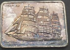 Colonial Mint Windjammers Libertad Argentina     Sailing Ship Silver Art Bar