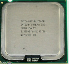 Intel Core 2 Duo E8600 8600 - 3.33 GHz Dual-Core  UNBOXED CPU ONLY WARRANTY