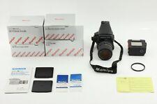 【Exc+6 in BOX】Mamiya 645 Pro TL AE Finder + 55-110mm Lens  220 Back JAPAN # 312