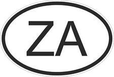 Adesivo adesivi sticker codice auto moto ritagliato nazioni ovale SUDAFRICANA