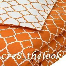 SHERIDAN POP JIRO QUEEN QUILT COVER ORANGE (FULLY REVERSIBLE)  - BRAND NEW -