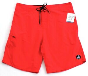 Body Glove Red Ventura Boardshorts Swim Trunks Men's NWT