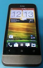 HTC One V 4GB Grey Us. Cellular CDMA Android Smartphone Cracked Glass Bad LCD