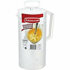 RUBBERMAID 2 QUART WHITE MIXING PITCHER 3064-09 - NEW
