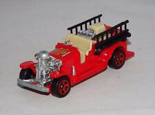 Hot Wheels 1 Loose Hall Of Fame Set Vehicle Old Number 5 Fire Truck Red
