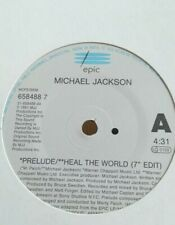"""MICHAEL JACKSON - 7"""" Vinyl - Heal the World (Made in Holland) -1991 - Epic"""