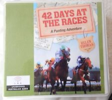 42 Days at the Races by Helen Thomas CD AUDIO BOOK