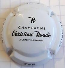 capsule de champagne Christian Naudé  nouvelle NR