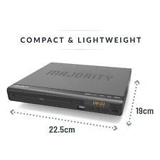 Majority Scholars Compact Dvd Player Multi-Region Region Free Usb Port DivX R.