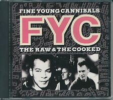 The Raw & the Cooked by Fine Young Cannibals (CD, Feb-1989, MCA)