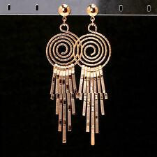 LARGE Ethnic Earrings Tribal Aztec Hippy Boho Dangle Statement Long Gold Tibetan