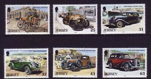 Jersey 1999. Centenary of Motoring: Vintage Cars  SG905/910  MNH