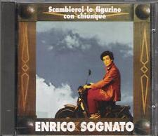 """ENRICO SOGNATO - RARO CD FUORI CATALOGO """" SCAMBIEREI LE FIGURINE CON CHIUNQUE """""""