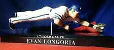 TAMPA BAY RAYS EVAN LONGORIA #3  MLB BASEBALL 1ST GOLD GLOVE ACTION FIGURE