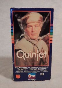 Betamax Beta QUINTET 1979  Paul Newman