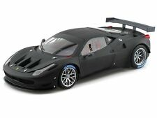 1:18 Hot Wheels BCK09 Elite Ferrari 458 Italia GT2 PLANO NEGRO MATE