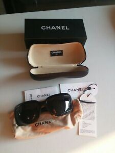 CHANEL 6022-Q SUNGLASSES MADE IN ITALY WITH BOX AND PAPERS