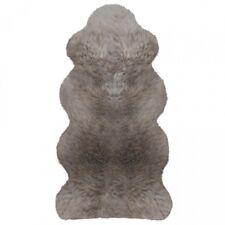 Lammfelle Australisches Lammfell 1 1/2 Fellen Taupe ca. 140 x 68 cm Naturform