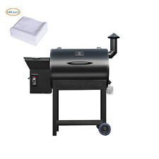 684sq. in Wood Pellet Smoker bbq Grill and Electric Pellet with Digital Controls