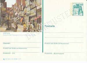 P 124 Bildpostkarte Imprimer Échantillon Celle