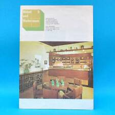 DDR Möbel und Wohnraum 5/1986 Haus Auensee Leipzig Schlafzimmer Stahlrohrmöbel